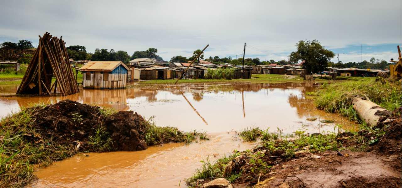 洪水救援物资运输
