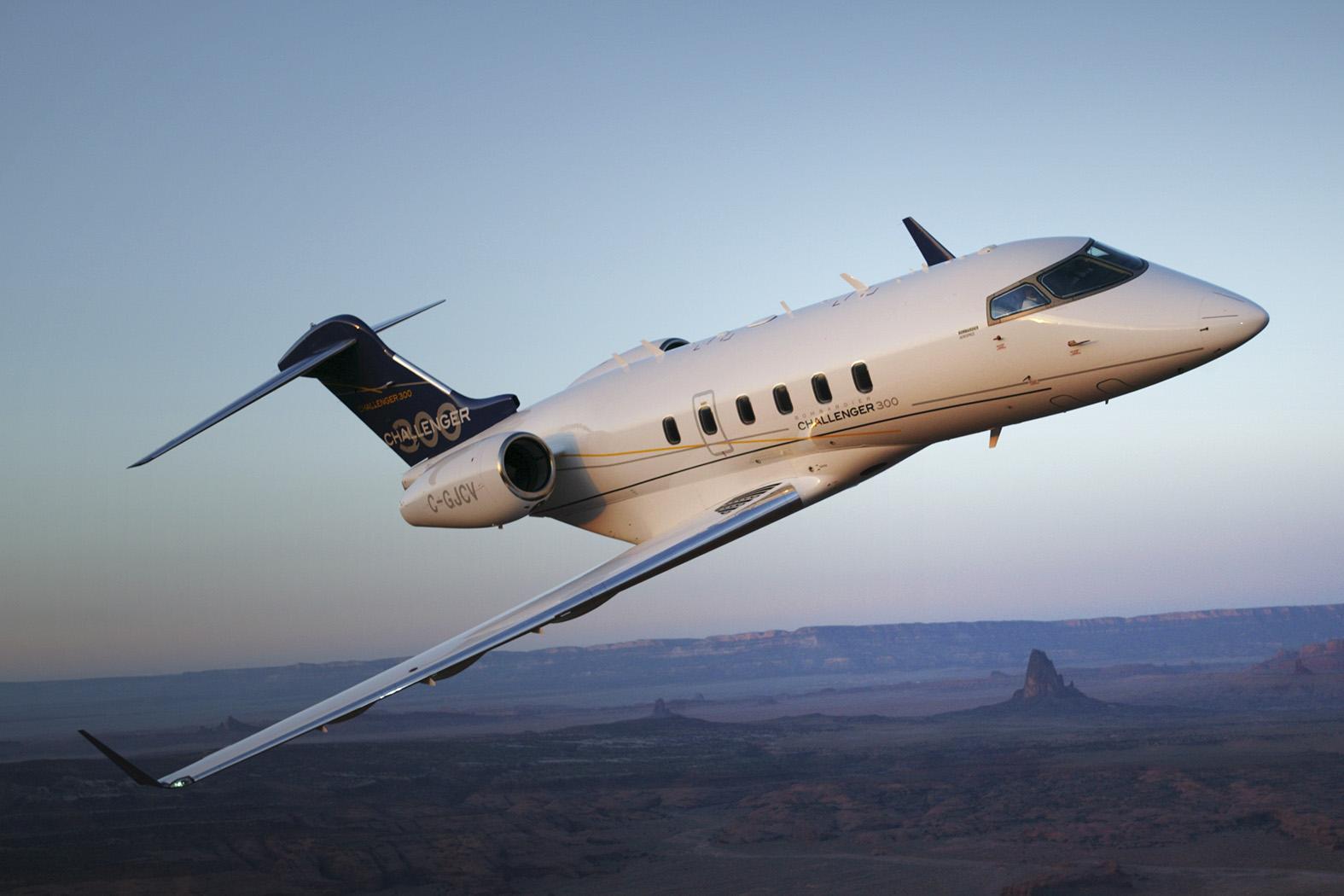 私人飞机-庞巴迪挑战者300