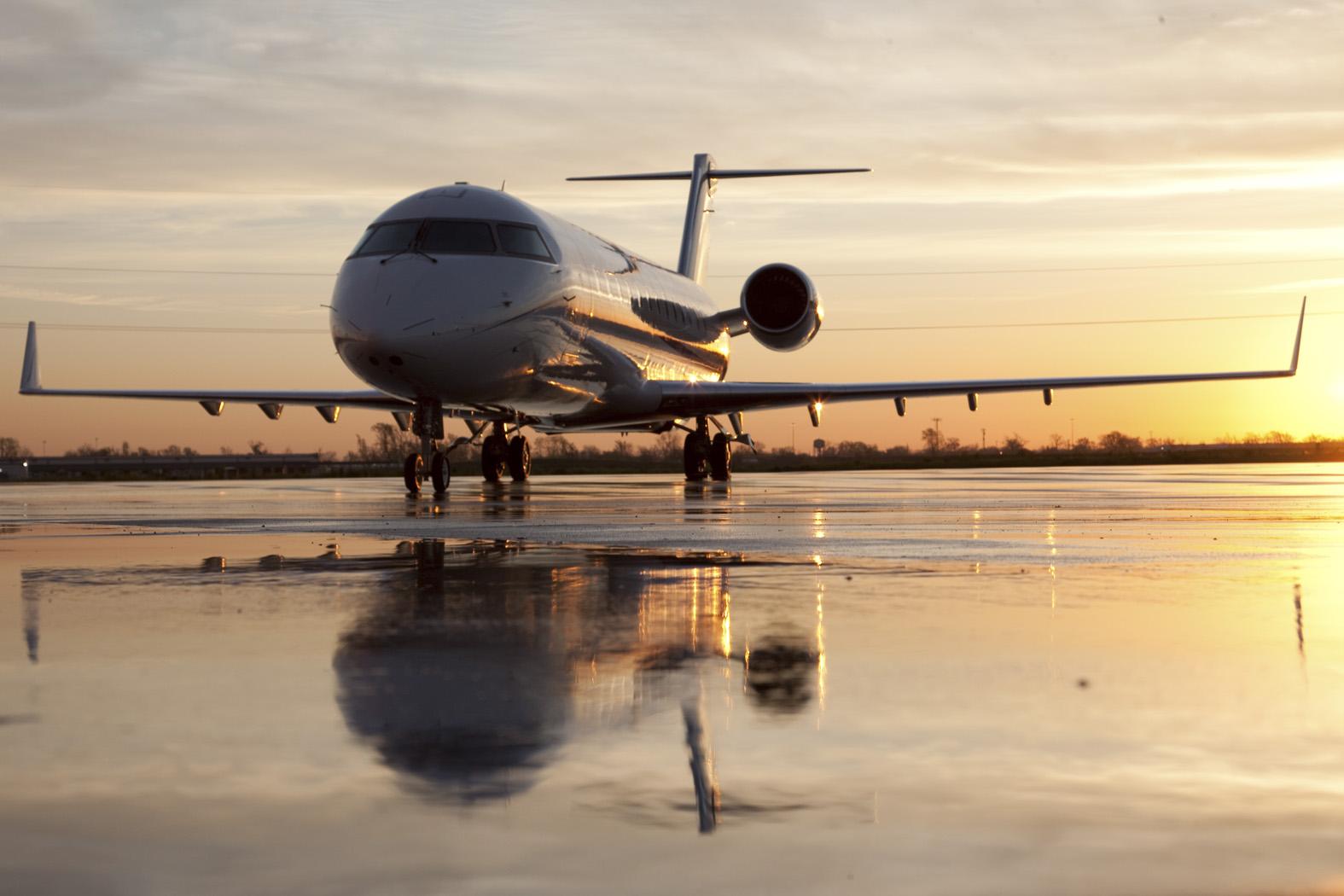 私人飞机庞巴迪挑战者850