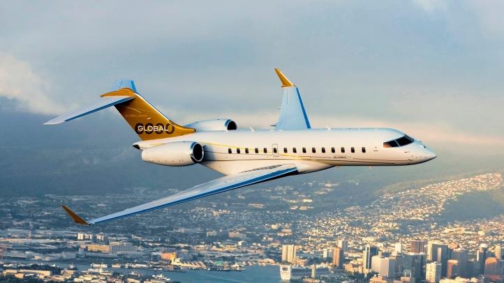 私人飞机-庞巴迪环球XRS6000