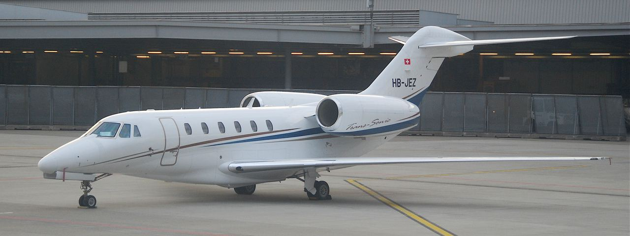 The Cessna Citation X, the fastest private jet in the world
