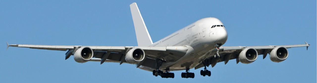 Prince Alwaleed bin Talal's Airbus A380 in flight