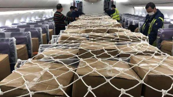 客机机舱运货