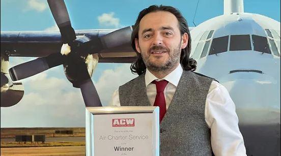 "ACS艾尔环球连续9年蝉联《航空货运世界》""年度最佳包机代理商""奖"