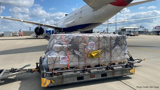 ACS艾尔环球安排英国援助航班飞往海地